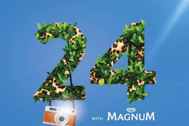 Ice cream brand Magnum is hosting a fashion-themed event in Regent Street