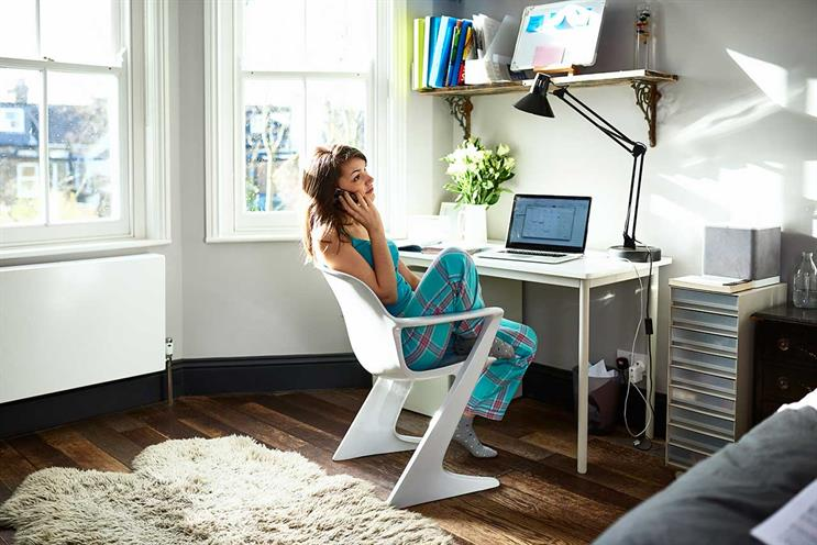 Work from home: pyjamas optional