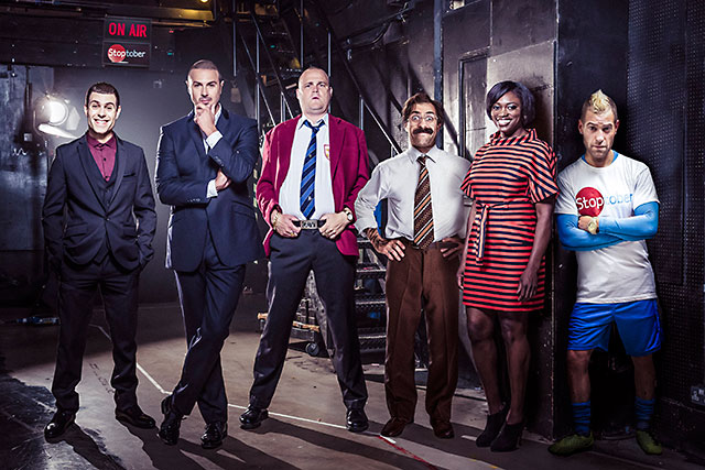 Stoptober: comedians including Al Murray and Paddy McGuinness will try to amuse people into quitting