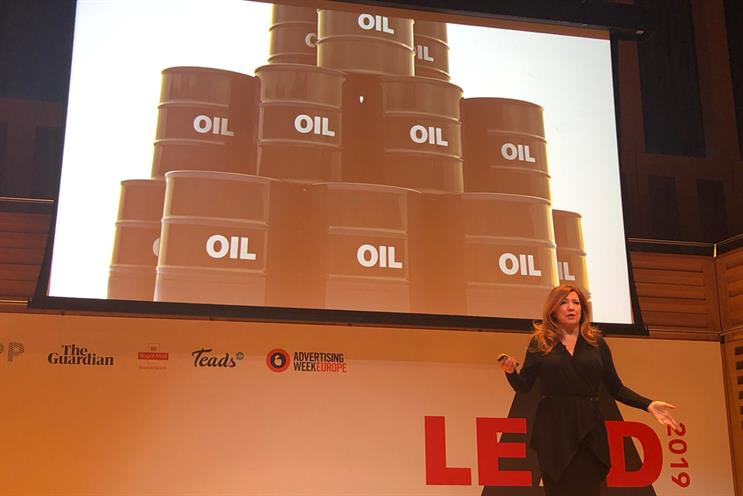 Malmgrem: explained how 'data is the new oil'