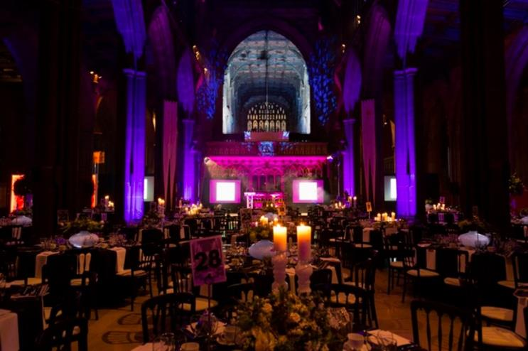 Manchester Cathedral comprises five event spaces (events.manchestercathedral.org)