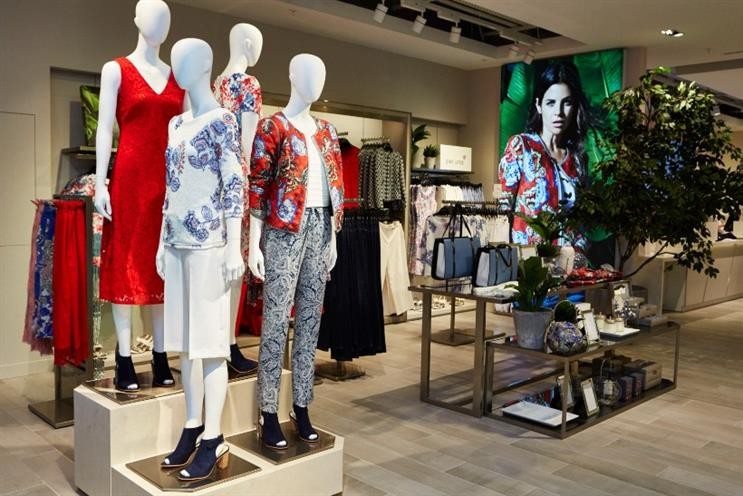 M&S: retailer suffers setback as clothing sales fall