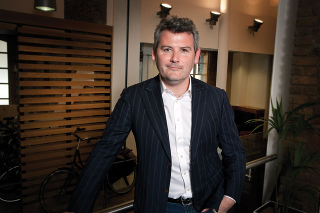 Mark D'Arcy: chief creative officer at Facebook