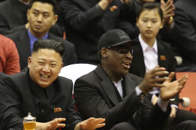 Paddy Power enlisted ex-NBA star Dennis Rodman to arrange basketball match in North Korea