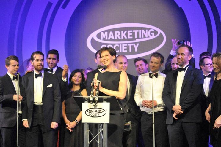 O2 scoops Marketing Society Brand of the Year Award