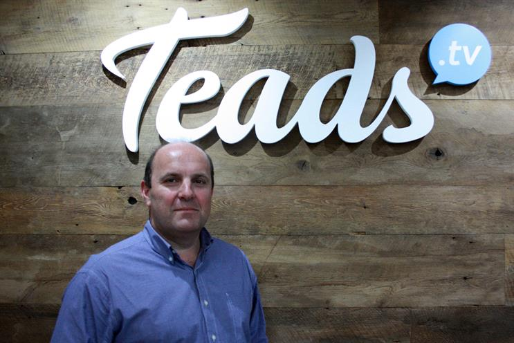 Marc Zander, global vice-president of client partnerships at Teads