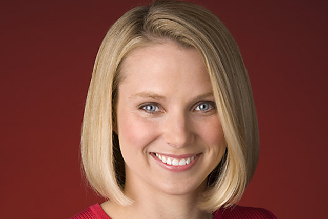 Marissa Mayer: chief executive, Yahoo