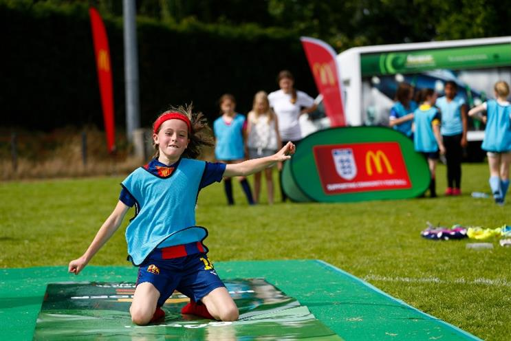 McDonald's: grassroots football enables it to drive closer ties with communities