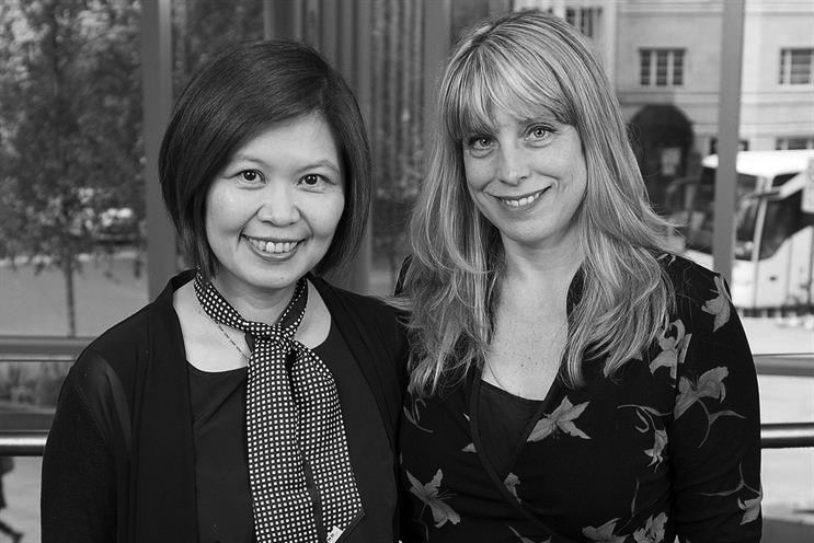 Isobar:Isobar global CEO Jean Lin and McCusker