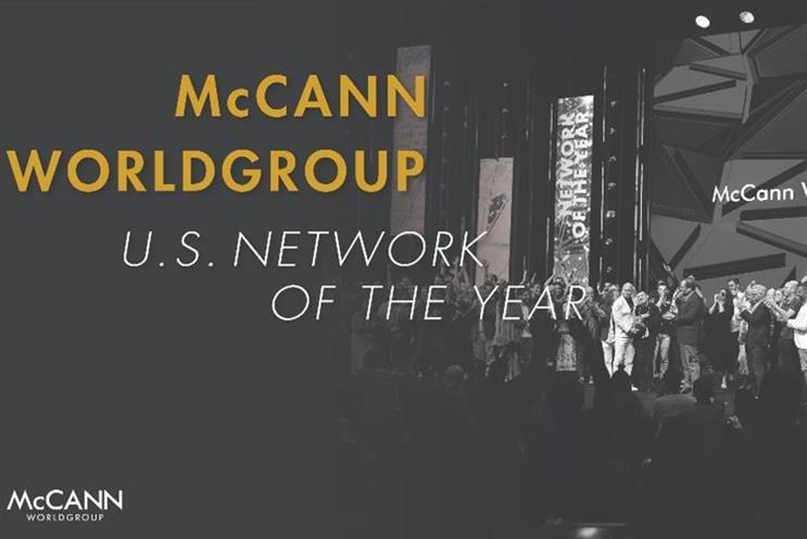 McCann: comprising 20,000-plus employees