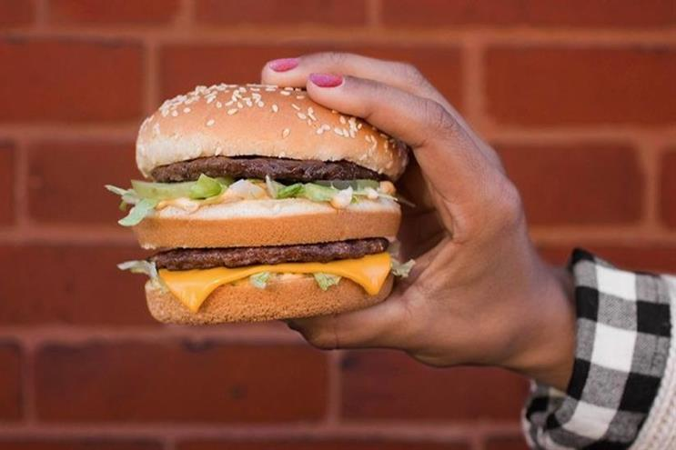 McDonald's: restructures marketing department