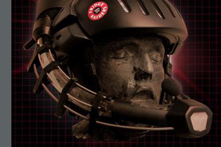 Fridge Raiders: Meat Snacking Helmet