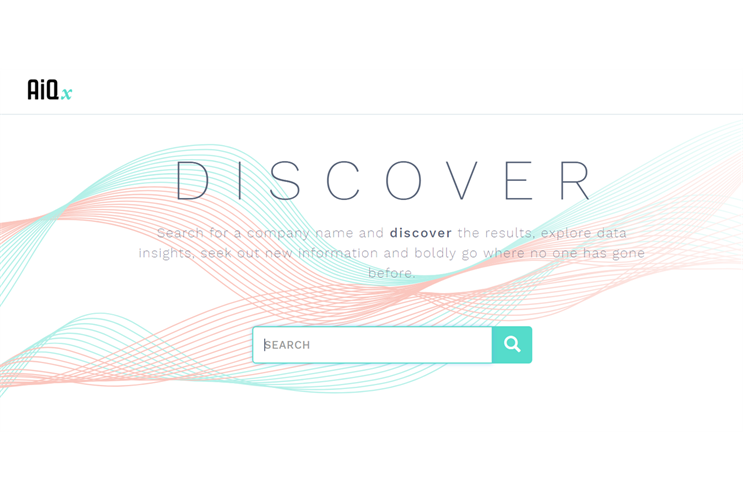 The platform's intuitive interface starts with a simple search bar