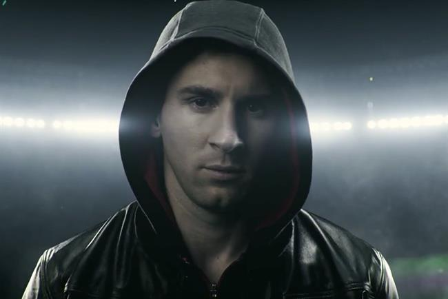 Lionel Messi: the footballer featured in Adidas' #therewillbehaters campaign, created by Iris