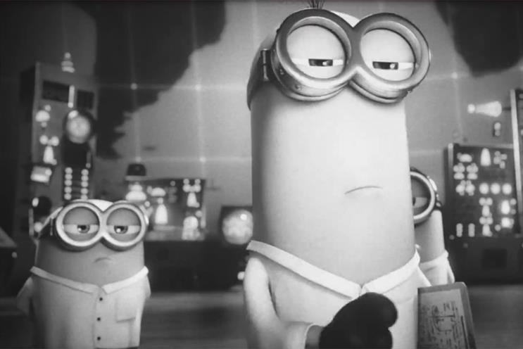 Sky Fibre: Despicable Me's Minions star in the latest campaign