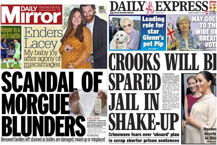 Mirror publisher Reach posts £120m pretax loss