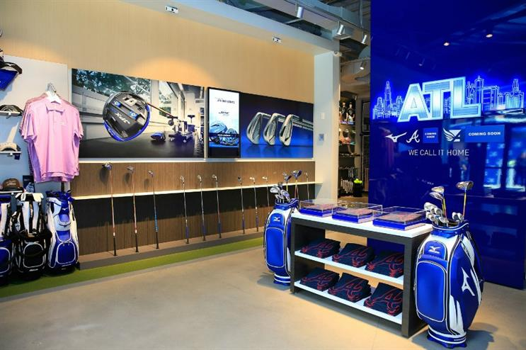 Mizuno: experience store opened this month in the US