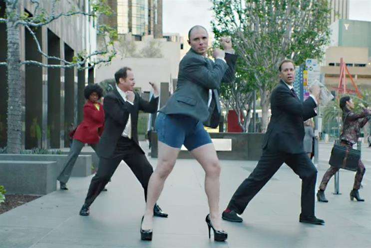 Moneysupermarket: No bum notes with Dave's #EpicStrut