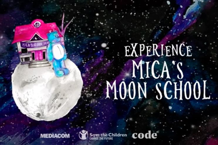Mica's Moon School: narrated by West