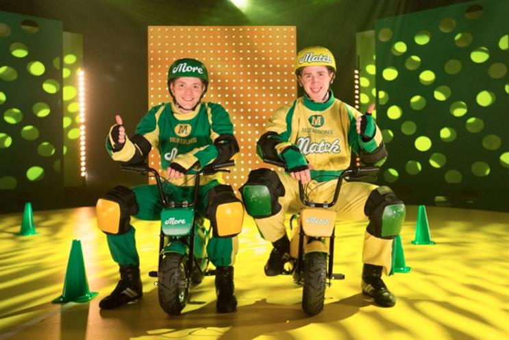 Morrisons: new sponsorship aims to promote Match & More loyalty scheme