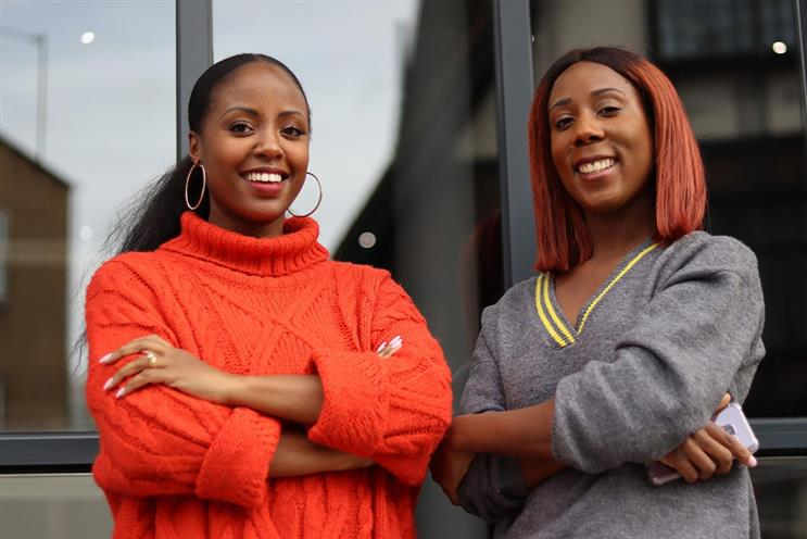 Working parents: (left to right) Alicia Emejulu and Louise King co-founded Mother of all Media (photo credit Debra Agbaje)