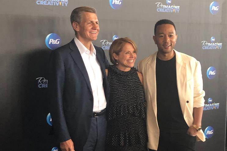 Cannes Lions panel: Pritchard, Couric and Legend