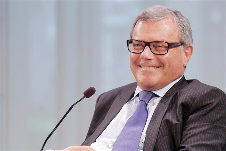 Martin Sorrell: said he and his wife are 'delighted'