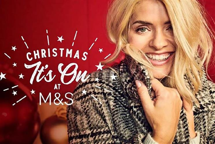 Holly Willoughby: fronted digital Christmas campaign