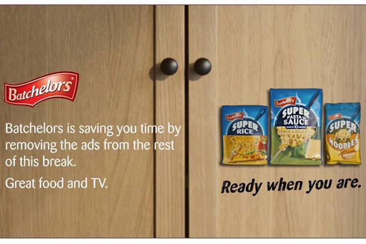 Batchelors' Virgin TV tie-up