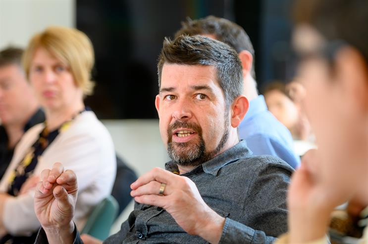 Murray Calder: pictured at the 2019 Thinkbox TV Planning Awards judging day