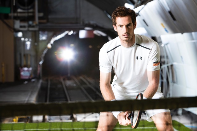 Under Armour creates secret tennis court for Andy Murray