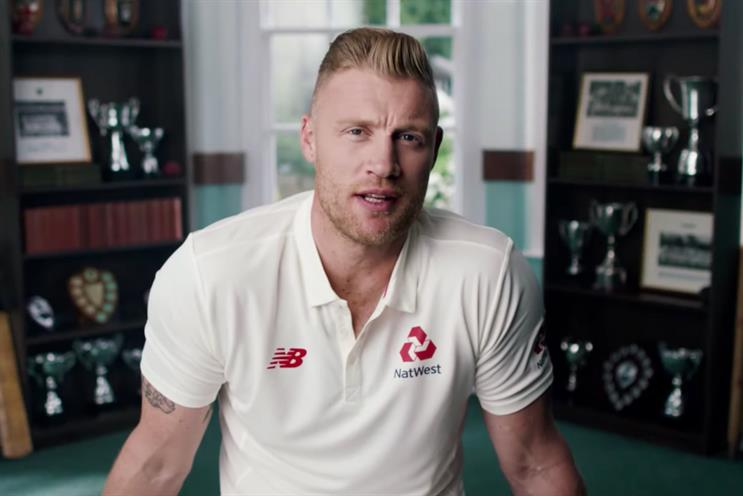NatWest: summer work featured Flintoff