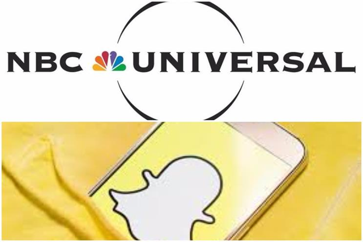 Snap partners with NBCUniversal to create shows for Snapchat