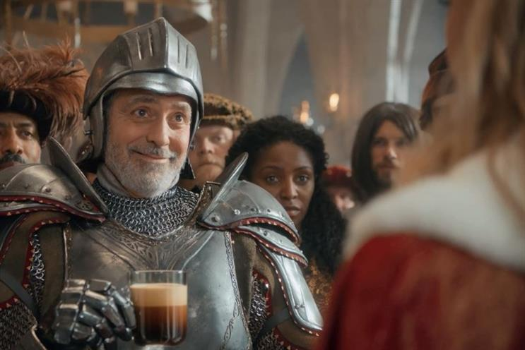 Nespresso's 'The Quest' campaign, featuring longtime brand mascot George Clooney
