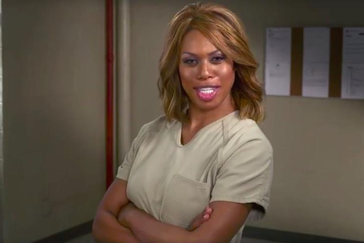 Orange is the New Black characters featured in Netflix's ad