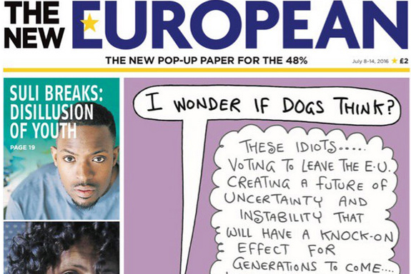 How The New European could succeed where The New Day failed