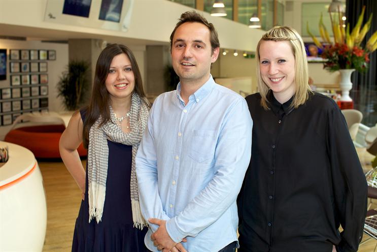 Planners (l-r): Jo Hudson, Matt Tanter and Ruth Chadwick