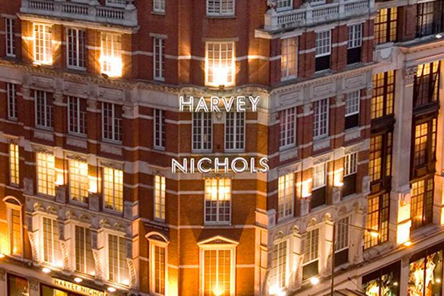 Harvey Nichols: the retailer's landmark Knightsbridge store