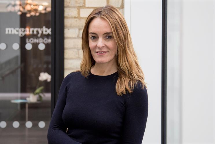 Nicole Reid: joins Mcgarrybowen