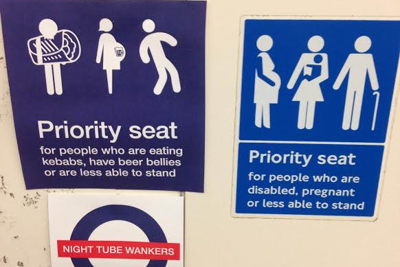 Night Tube spoof etiquette posters created by Crispin Porter & Bogusky creatives