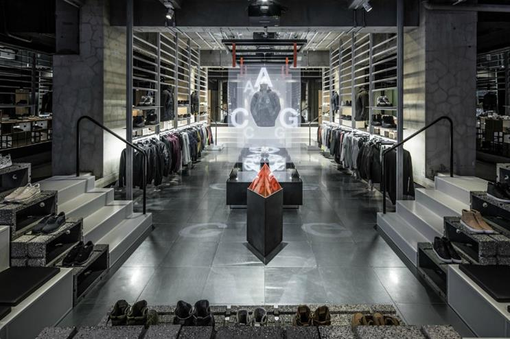 Nike opened its Tokyo store on 1 December
