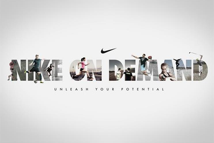 R/GA's work for Nike was featured four times on the shortlist