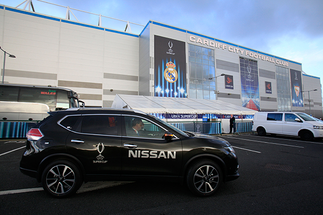 Nissan: aims to place itself at the very heart of the world's biggest game and crack global audience