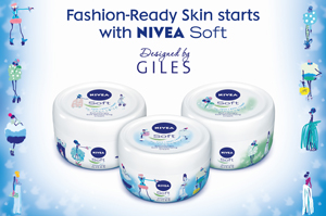 The Nivea Soft campaign will target London fashionistas this week