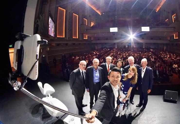 Nobel Perspectives Live: four Nobel laureates present before students