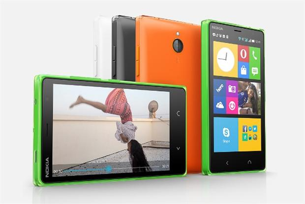 Nokia handsets: the recently-acquired Nokia business has hit Microsoft's profit margin