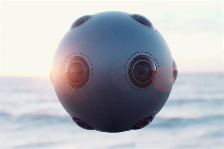 Nokia: the Ozo camera is, the brand claims, the first VR camera for professionals