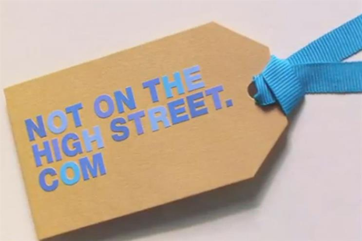 Notonthehighstreet.com: reviews its media planning and buying account