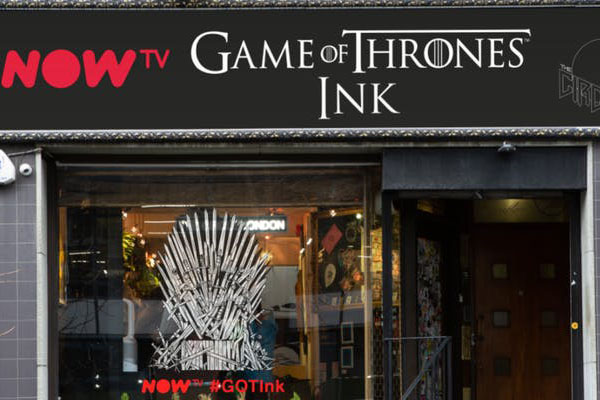 Now TV opens Game of Thrones-inspired tattoo studio