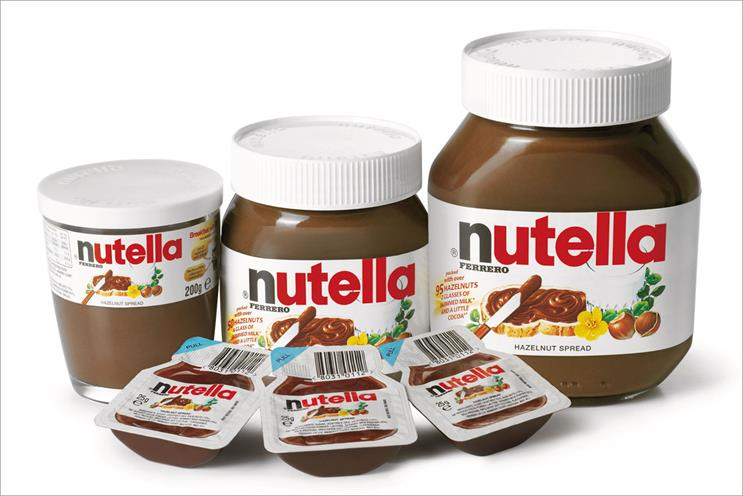 Nutella: owner Ferrero appoints Rocket to its media account